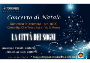 Calcio, Concerto di Natale 2018 @ Calcio, Cine Teatro Astra | Lombardia | Italia