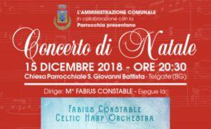 Telgate, Concerto di Natale @ Chiesa Parrocchiale S. Giovanni Battista   Telgate   Lombardia   Italia