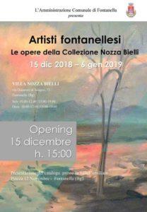 """Fontanella, Mostra """"Artisti Fontanellesi"""" @ Villa Nozza Bielli, Fontanella"""