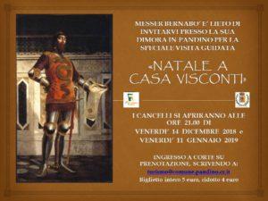 """Pandino, """"Natale a Casa Visconti"""" @ Castello di Pandino"""