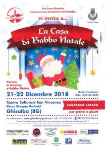 Ghisalba, La Casa di Babbo Natale @ Centro Culturale San Vincenzo