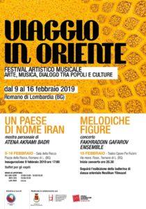 """Romano di Lombardia, Festival artistico-musicale """"Viaggio in Oriente"""" @ Sala della Rocca"""