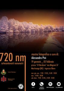 """Martinengo, mostra fotografica """"720 NM SETTECENTOVENTI NANOMETRI"""" @ Filandone, Martinengo"""
