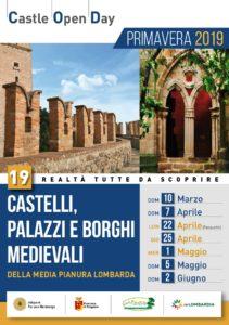 25 aprile - Giornate dei castelli, palazzi e borghi medievali
