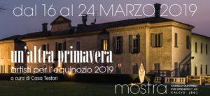 """Calcio, Settimana della Cultura """"Un'altra primavera - Artisti per l'equinozio 2019"""" @ Cineteatro Astra, Calcio"""