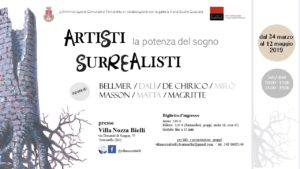 """Fontanella, Mostra """"ARTISTI SURREALISTI. La potenza del sogno"""" @ Villa Nozza Bielli"""