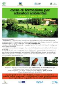 Corso di formazione per educatori ambientali @ Sedi diverse