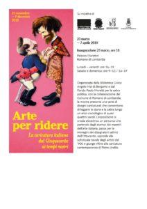 """Romano di Lombardia, """"arte per ridere"""" @ Romano di Lombardia"""