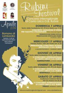 """Romano di Lombardia, """"Rubini festival"""" @ Romano di Lombardia"""