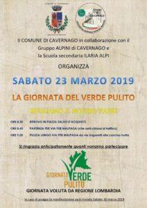 """Cavernago, """"la giornata del verde pulito"""" @ Comune di Cavernago"""