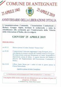 Antegnate, Anniversario della liberazione d'Italia @ Antegnate