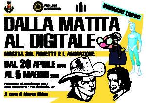 """Martinengo, mostra """"dalla matita al digitale"""" a cura di Marco Ghion @ Filandone, Martinengo"""