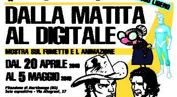 """Martinengo, Mostra """"Dalla matita al digitale"""""""