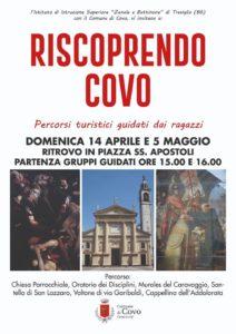 """Covo, """"percorsi turistici guidati"""" @ Piazza SS.Apostoli"""