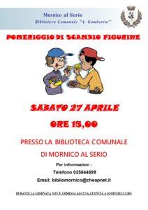 """Mornico al Serio, """"scambio figurine"""" @ Mornico al Serio"""