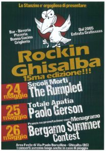 "Ghisalba, ""Rockin Ghisalba"" @ Area Feste"