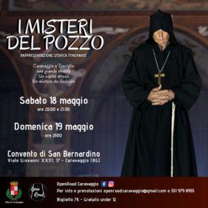 """Caravaggio, rappresentazione storica """"i misteri del pozzo"""" @ Convento di San Bernardino"""