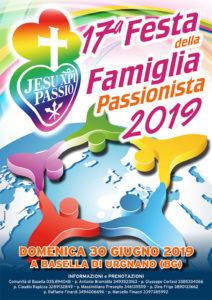 Basella, 17° festa della famiglia passionista @ Basella di Urgnano