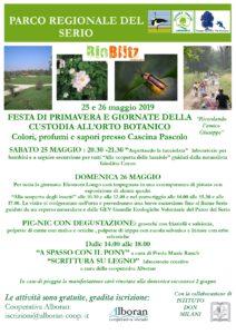 """Romano, """"Festa di primavera e giornate di custodia dell'orto botanico"""" @ Romano di Lombardia"""