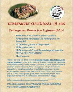 """Zanica, """"Domeniche culturali in 500"""" @ Zanica"""