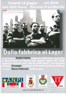 """Romano di Lombardia, """"Dalla fabbrica al Lager"""" @ Romano di Lombardia, Sala della Rocca"""