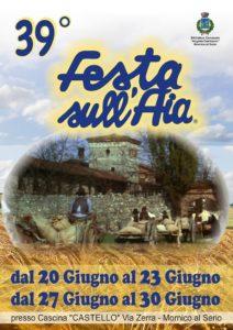 """Mornico al Serio, """"39° Festa sull'Aia"""" @ Mornico al Serio"""