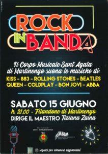 """Martinengo, """"Rock in Banda @ Martinengo, Filandone"""