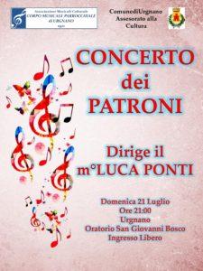 """Urgnano, """"Concerto dei Patroni"""" @ Oratorio S. Giovanni Bosco"""