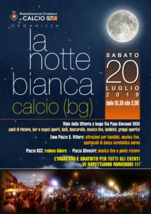 """Calcio, """"Notte Bianca"""" @ Centro Paese"""