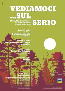 """Romano di Lombardia, Rassegna teatrale """"Vediamoci ...sul Serio"""" @ Romano di Lombardia, Orto Botanico """"G. Longhi"""""""