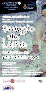 """Romano di Lombardia, """"Omaggio alla luna - Canzoni e parole nel 50° dell'allunaggio"""" @ Piazza Manetta"""