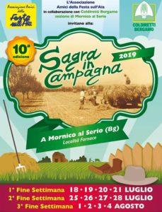"""Mornico al Serio, """"Sagra in campagna 2019"""" @ Località Fornace, Mornico al Serio"""