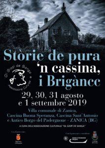 """Zanica, """"Stòrie de pura 'n cassina, i Brigàncc"""" @ Zanica, Villa Comunale"""