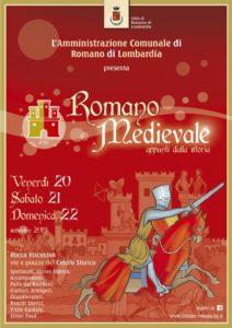 """Romano di Lombardia, """"Romano Medievale"""" @ Romano di Lombardia, Rocca e centro storico"""