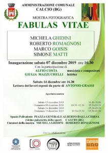 """Calcio, Mostra fotografica """"Fabulas Vitae"""" @ Calcio, Spazio Polivalente"""