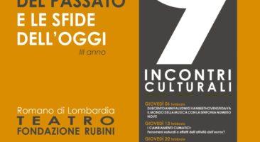 Romano di Lombardia, Incontri culturali su scienza, attualità, musica, arte e storia