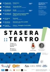 Romano di Lombardia, Stasera Teatro! @ Romano di Lombardia, Teatro Fondazione Rubini