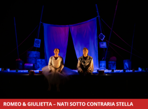 """Spettacolo di Ale&Franz: """"Romeo & Giulietta. Nati sotto contraria stella"""" @ Bergamo, Teatro Creberg"""