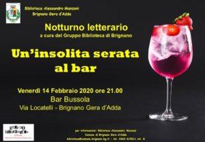 """Brignano Gera d'Adda, """"Un'insolita serata al bar"""" @ Brignano Gera d'Adda"""