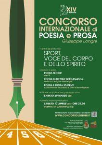 """Romano di Lombardia, XIV Concorso Internazionale di poesia e prosa """"G. Longhi"""""""