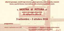 Castello di Pagazzano, IV° simposio di scultura, mostra collettiva e mostra di pittura